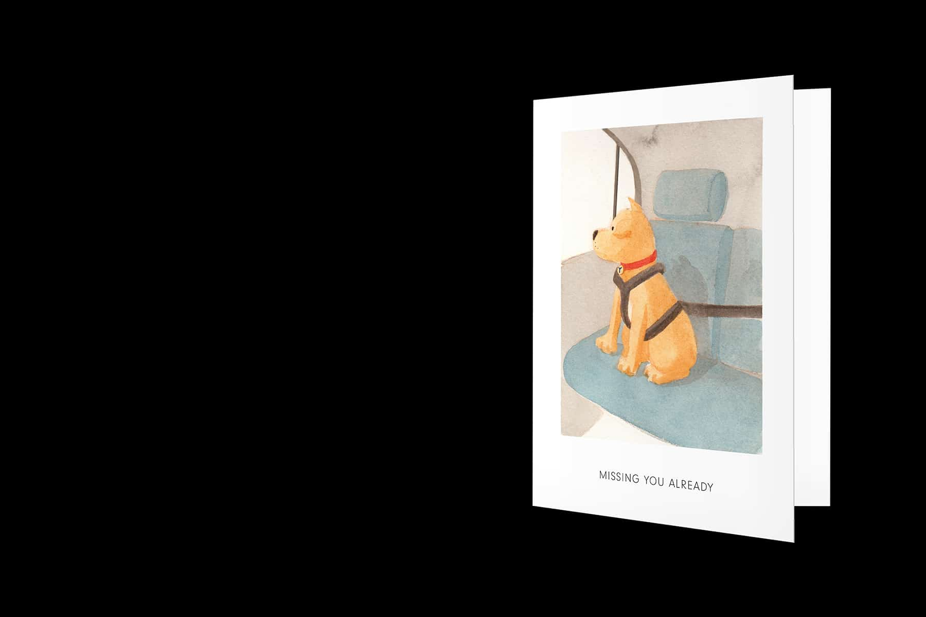 Yitto Paws greeting cards