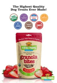 Yitto Paws Granola Bites, 8-ounce pouch